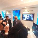국내 VR기업 엠투에스, VR 기술 적용한 안과 검사기 선보여